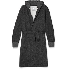 Reigning Champ Cotton-Blend Tiger Fleece Robe