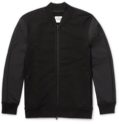 Reigning Champ - Loopback Cotton-Jersey and Shell Bomber Jacket