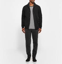Reigning Champ Shawl-Collar Loopback Cotton-Jersey Cardigan