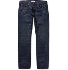 Ron Herman Slim-Fit Japanese Washed-Denim Jeans