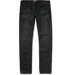 Ron Herman Slim-Fit Washed Japanese Selvedge Denim Jeans