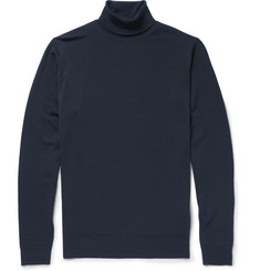 John Smedley - Belvoir Merino Wool Rollneck Sweater