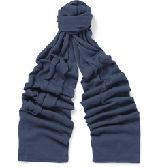 John Smedley - Helden Cashmere and Silk-Blend Scarf