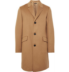 Theory - Whyte Slim-Fit Brushed-Cashmere Coat