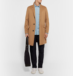 Theory Whyte Slim-Fit Brushed-Cashmere Coat