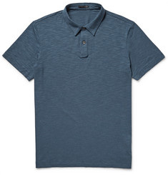 Theory Bron Slub Stretch-Pima Cotton and Modal-Blend Polo Shirt