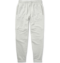 Theory - Dryden Tapered Loopback Cotton-Jersey Sweatpants