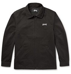 Stüssy Embellished Twill Garage Jacket