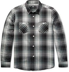 Stüssy Big Mac Checked Cotton-Flannel Shirt