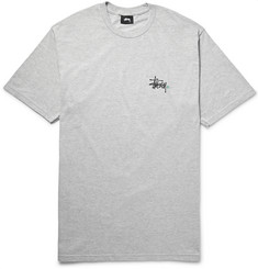 Stüssy - Printed Cotton-Blend Jersey T-Shirt