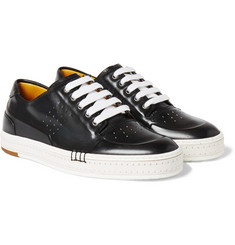 Berluti - Playtime Burnished-Leather Sneakers