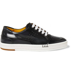 Berluti Playtime Burnished-Leather Sneakers