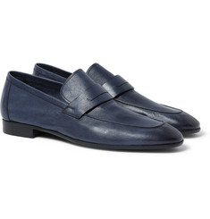 Berluti - Lorenzo Full-Grain Burnished-Leather Loafers