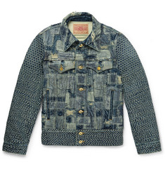 Blackmeans - Patchwork Denim Jacket