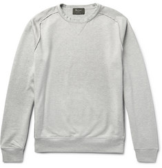 Berluti Loopback Cotton and Silk-Blend Jersey Sweatshirt