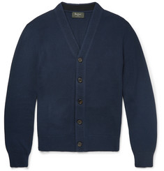 Berluti - Honeycomb-Knit Silk and Cotton-Blend Cardigan