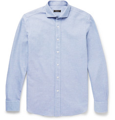 Berluti Textured-Cotton Shirt