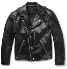 Tom Ford - Slim-Fit Leather Biker Jacket