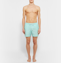 Onia Charles Mid-Length Cotton-Blend Swim Shorts
