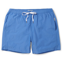 Onia - Charles Mid-Length Cotton-Blend Swim Shorts