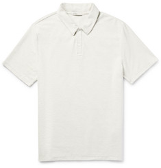 Onia Alec Cotton-Blend Terry Polo Shirt