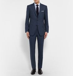 Gieves & Hawkes - Navy Wool Suit Jacket