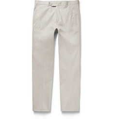 - Slim-Fit Cotton-Blend Chinos