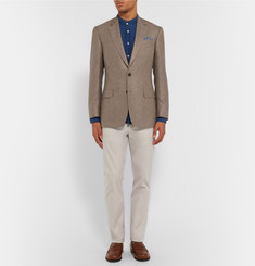 Gieves & Hawkes - Slim-Fit Cotton-Blend Chinos