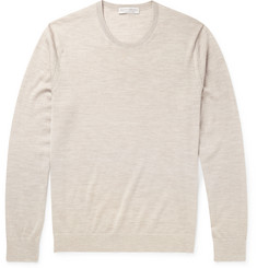 Gieves & Hawkes - Cashmere, Wool and Silk Blend Sweater