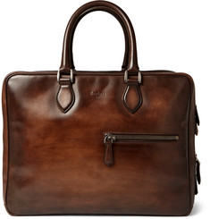 Berluti Formula 1001 Polished-Leather Holdall