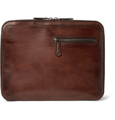 Berluti Au Grand Jour Polished-Leather Portfolio