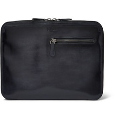 Berluti Au Grand Jour Burnished-Leather Pouch