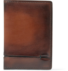 Berluti Jagua Burnished-Leather Wallet