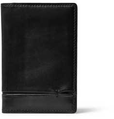 Berluti Jagua Burnished Venezia Leather Cardholder