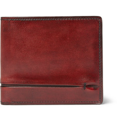 Berluti Burnished-Leather Billfold Wallet