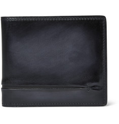 Berluti Polished-Leather Billfold Wallet