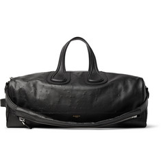 Givenchy - Nightingale Distressed Leather Duffle Bag