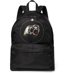 Givenchy Monkey Brothers Printed Shell Backpack
