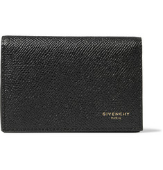 Givenchy Eros Pebble-Grain Leather Bifold Cardholder