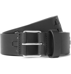 Givenchy - 3cm Black Embellished Leather Belt
