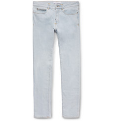 Givenchy Cuban-Fit Bleached Denim Jeans