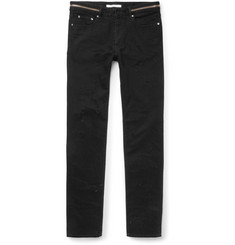 Givenchy Cuban-Fit Distressed Denim Jeans