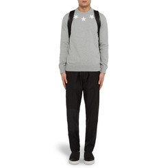 Givenchy Star-Appliquéd Cotton Sweatshirt
