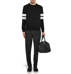 Givenchy Slim-Fit Appliquéd Cotton Sweater