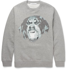Givenchy - Cuban-Fit Rottweiler Fleece-Back Cotton-Jersey Sweatshirt