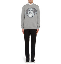 Givenchy Cuban-Fit Rottweiler Fleece-Back Cotton-Jersey Sweatshirt