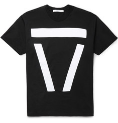 Givenchy Columbian-Fit Appliquéd Cotton T-Shirt