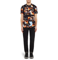 Givenchy Cuban-Fit Printed Cotton T-Shirt