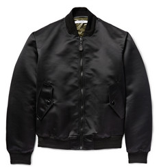 Givenchy - Padded Satin Bomber Jacket