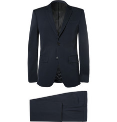 Givenchy Navy Slim-Fit Cotton-Blend Suit
